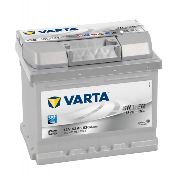C6 VARTA SILVER DYNAMIC BATTERY (063 HD) (533072)