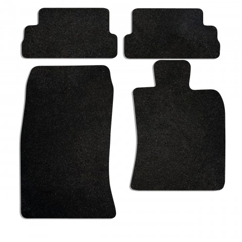 Mini Mini Convertible R57 2008 2016 4 Pieces 2 Clips Car Mats