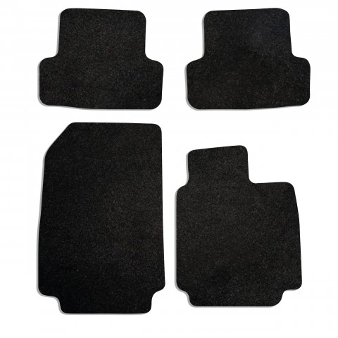 Renault Captur 2013-on Fully Tailored Deluxe Car Mats in Black
