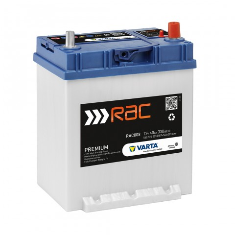 Rac008 Premium Car Battery Rac Shop